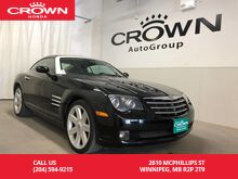 2004_Chrysler_Crossfire_/NO ACCIDENTS/LOW KM/HEATED LEATHER SEATS_ Winnipeg MB