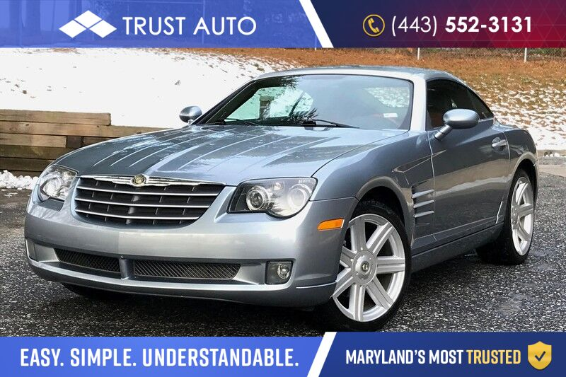 2004 Chrysler Crossfire Sport Coupe w/ 6-Speed Manual