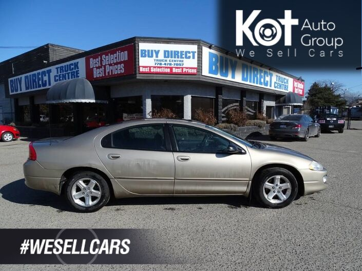 2004 Chrysler Intrepid ES/SXT, Sunroof, Has a Hitch, Perfect for Towing Small Trailers! Kelowna BC