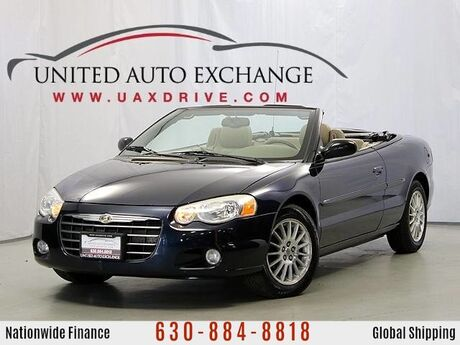 2004 Chrysler Sebring LXi Convertible Addison IL