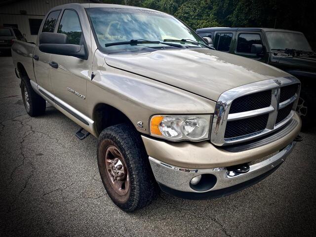 2004_DODGE_RAM 2500 QUAD CAB 4X4_SLT 5.9L CUMMINS_ Bridgeport WV