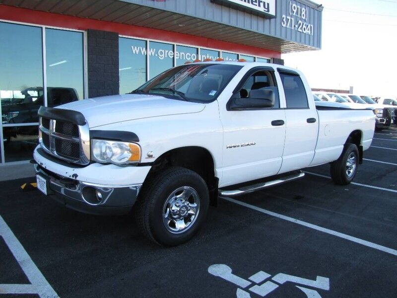 2004 Dodge 2500 4x4 Diesel 6-Speed SLT