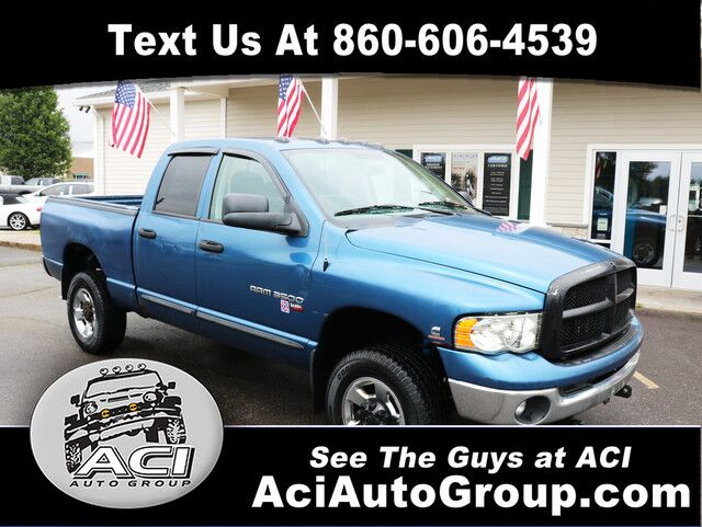 2004 Dodge RAM 2500 Quad Cab East Windsor CT