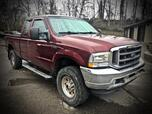 2004 FORD F250 SUPERCAB 4X4 XLT 6 SPEED  MANUAL TRANSMISSION
