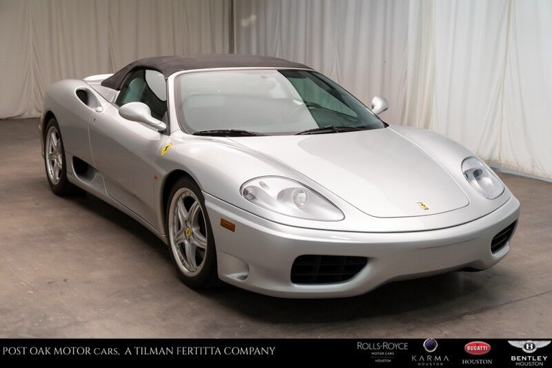2004 Ferrari 360 Spider Houston TX