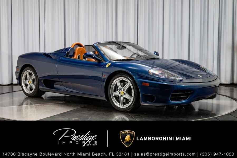 2004_Ferrari_360_Spider_ North Miami FL
