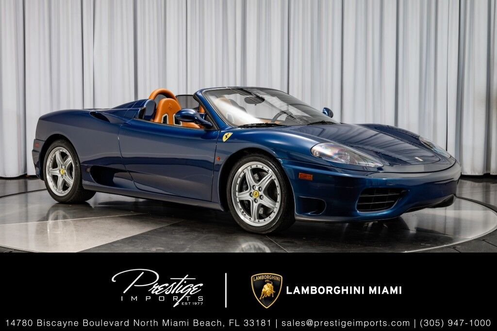 2004 Ferrari 360 Spider North Miami Beach FL