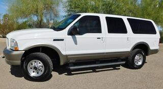 Ford EXCURSION 4WD EDDIE BAUER PKG POWERSTROKE DIESEL NO RUST AZ SINCE NEW 2004