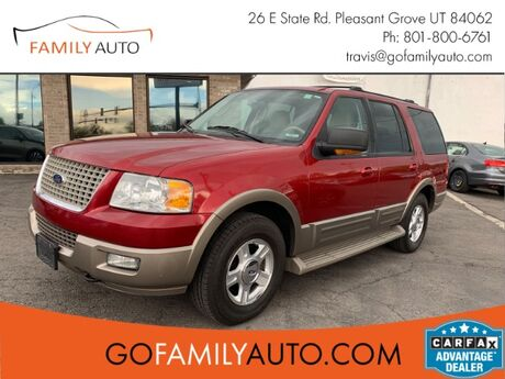 2004 Ford Expedition Eddie Bauer 5.4L 4WD Pleasant Grove UT
