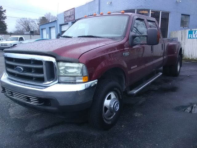 2004 ford f-350 sd xlt crew cab 4wd drw whiteville nc 22577182