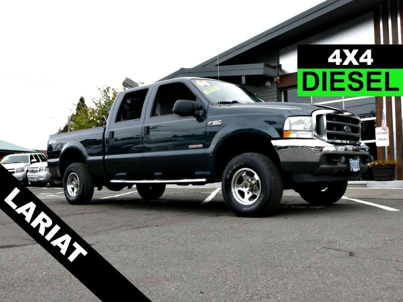 2004 Ford Super Duty F-350 Lariat 4X4 LEATHER LOADED DIESEL US TRUCK