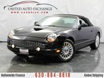 2004 Ford Thunderbird 3.9L V8 Engine ** CONVERTIBLE ** RWD Premium w/ Leather Heated Seats