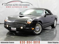 2004_Ford_Thunderbird_3.9L V8 Engine ** CONVERTIBLE ** RWD Premium w/ Leather Heated Seats_ Addison IL
