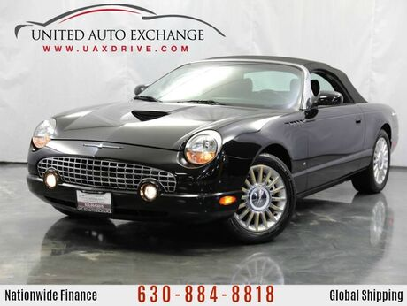2004 Ford Thunderbird 3.9L V8 Engine ** CONVERTIBLE ** RWD Premium w/ Leather Heated Seats Addison IL