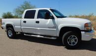 2004 GMC 2500HD SIERRA 4X4 CREW SB SLT LOADED W/ ALL OPTS 6.6 DURAMAX DIESEL ALLISON TRANS DVD LEATHER