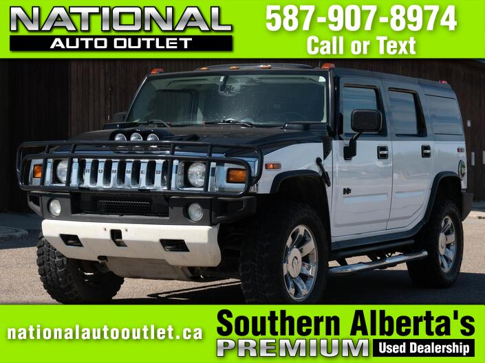 2004 HUMMER H2- HEATED LEATHER SEATS -SUN ROOF  Lethbridge AB