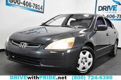 2004_Honda_Accord Sdn_LX AUTOMATIC CLOTH CRUISE CONTROL PWR ACCESSORIES_ Houston TX