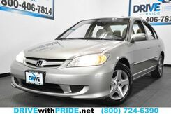 2004_Honda_Civic_EX CRUISE CTRL SUNROOF ALLOYS PWR ACCESS_ Houston TX