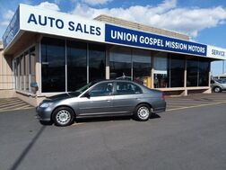 2004_Honda_Civic_LX sedan_ Spokane Valley WA