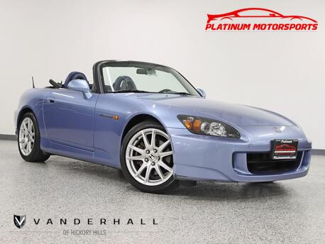 2004_Honda_S2000_1 Owner Rare Find All Original 39k Miles 3 Keys Books Window Sticker 1 of 1,080 Produced_ Hickory Hills IL