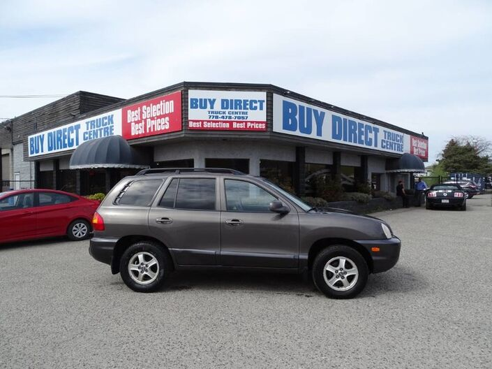 2004 Hyundai Santa Fe GL, New Battery and Air Conditioning, Heated Leather Seats, Sunr Kelowna BC