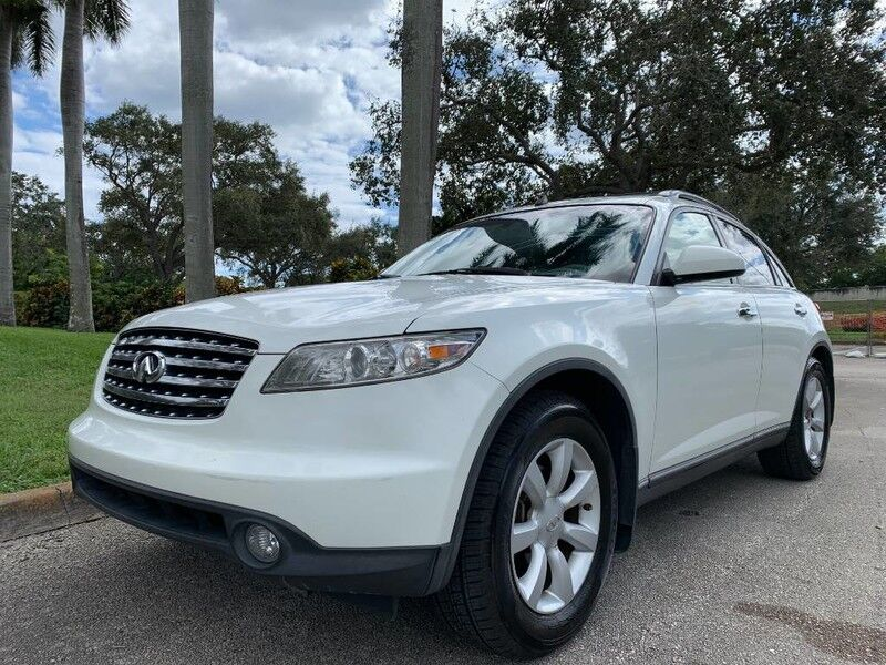 2004 INFINITI FX35 Base Hollywood FL