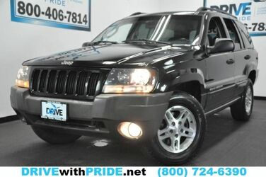 Jeep LAREDO 4WD ALLOY SUNROOF CRUISE TOWING PKG PWR DRIVER Laredo 2004