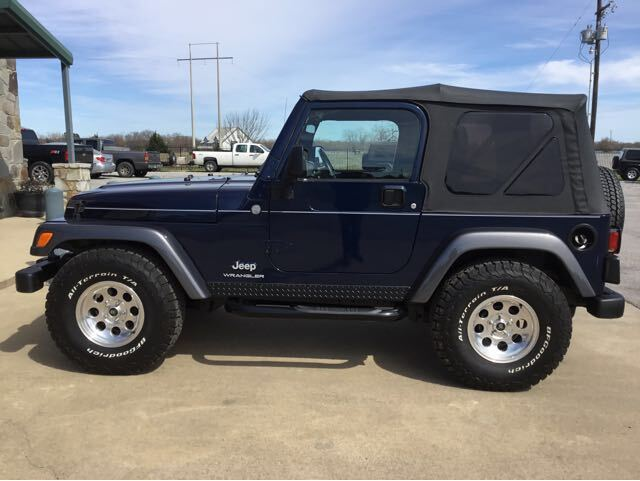 2004 Jeep Wrangler Rocky Mountain Edition Royse City TX
