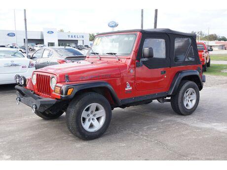 2004 Jeep Wrangler Rubicon Richwood TX