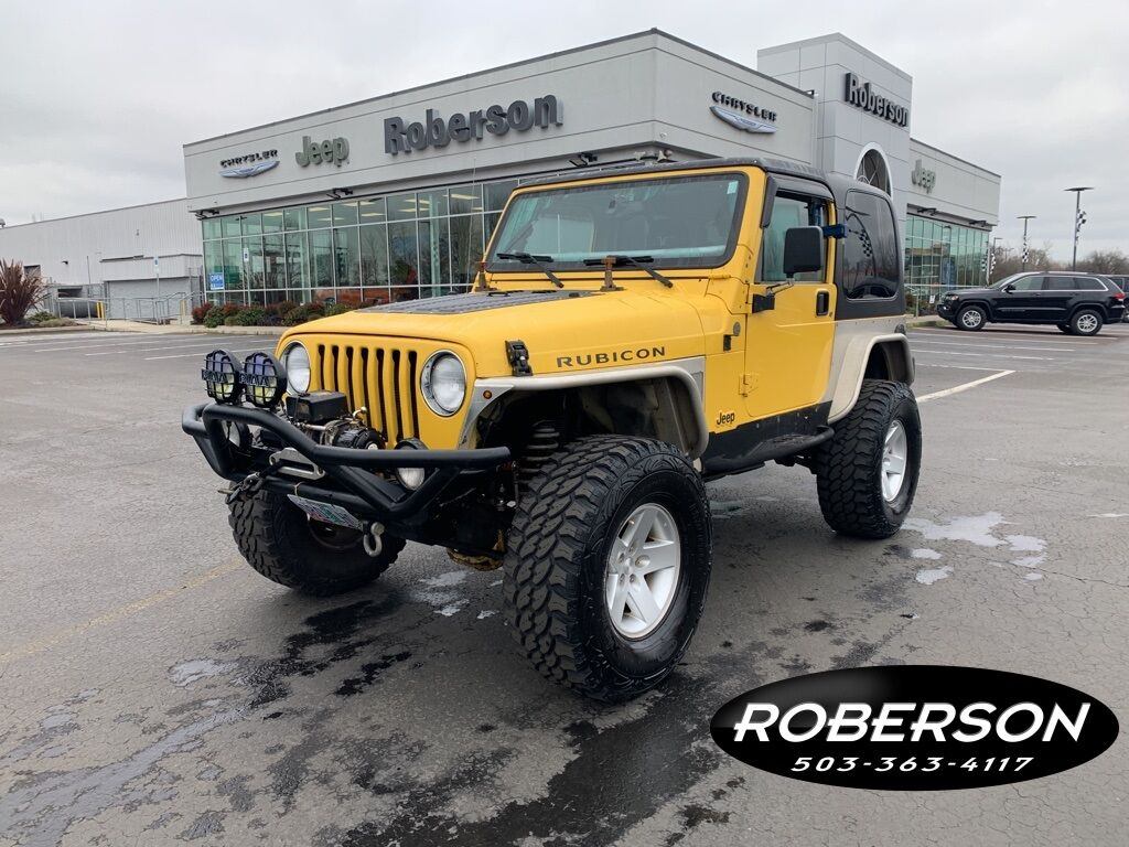 2004 Jeep Wrangler Rubicon Salem OR