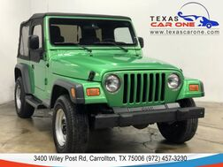 2004_Jeep_Wrangler_SE 4WD SOFT TOP CONVERTIBLE VINYL SEATS_ Carrollton TX