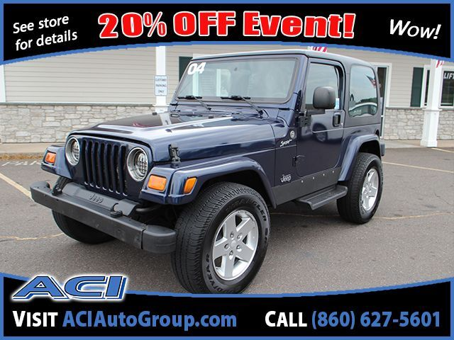 2004 Jeep Wrangler Sport East Windsor CT
