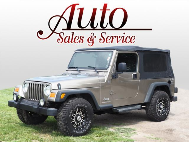 2004 Jeep Wrangler Unlimited Indianapolis IN
