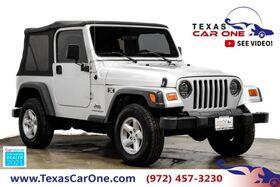 2004_Jeep_Wrangler_X 4WD SOFT TOP CONVERTIBLE ALLOY WHEELS_ Carrollton TX