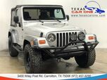 2004 Jeep Wrangler X 4WD SOFT TOP CONVERTIBLE RUNNING BOARDS TOWING HITCH ALLOY WHE