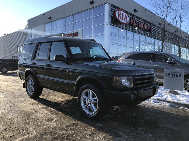 2004 Land Rover Discovery II SE AWD V8, *SUNROOF/LEATHER HEATED SEATS/CRUISE CONTROL* Edmonton AB