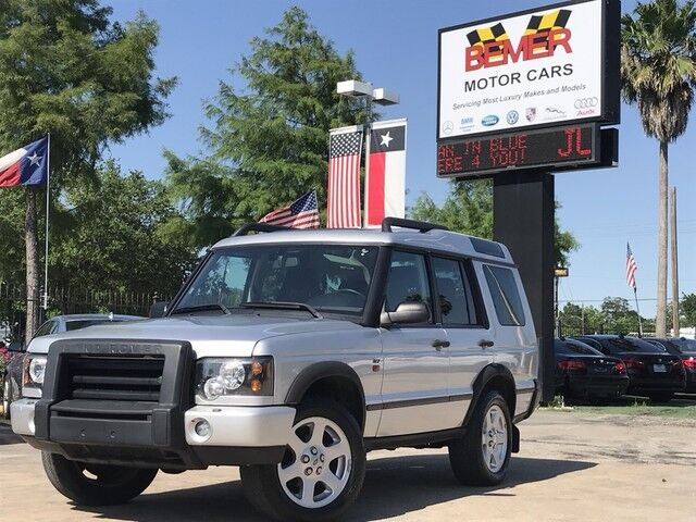 2004 Land Rover Discovery SE7 Houston TX