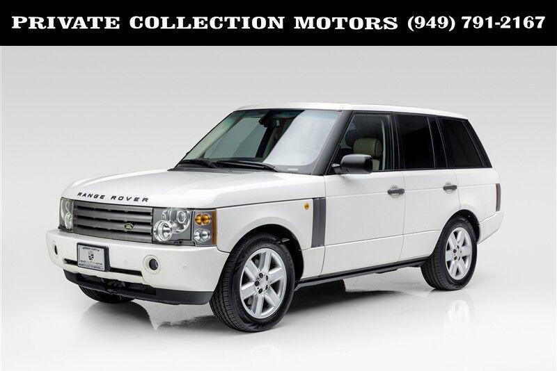 2004_Land Rover_Range Rover_HSE_ Costa Mesa CA