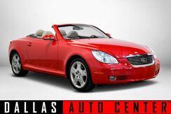 2004_Lexus_SC 430_Convertible_ Carrollton TX