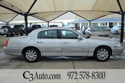 2004_Lincoln_Town Car_Ultimate_ Plano TX