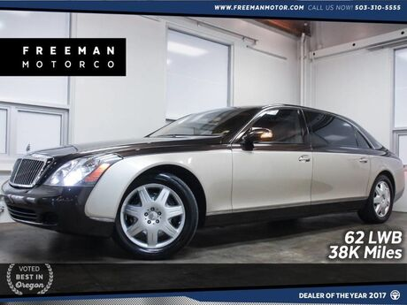 2004 Maybach 62 LWB Just 38K Miles Pano Distronic Cruise Portland OR
