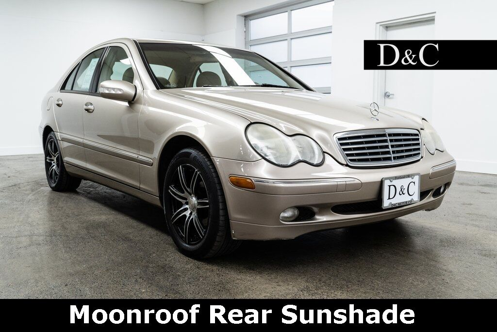 2004 Mercedes-Benz C-Class C 240 Moonroof Rear Sunshade Portland OR