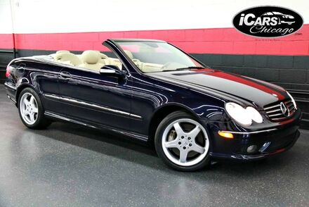 2004_Mercedes-Benz_CLK500_AMG Sport 2dr Convertible_ Chicago IL