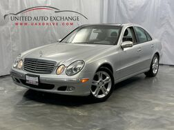 2004_Mercedes-Benz_E-Class_E500 ** Low Miles ** / 5.0L V8 Engine / AWD 4-Matic / Sunroof / Navigation / Heated Seats / Harman Kardon Premium Sound System_ Addison IL