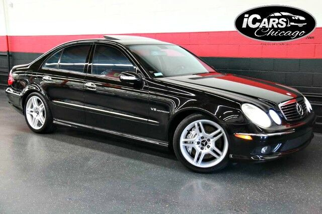 2004 mercedes benz e55 amg 4dr sedan skokie il 20897146. Black Bedroom Furniture Sets. Home Design Ideas