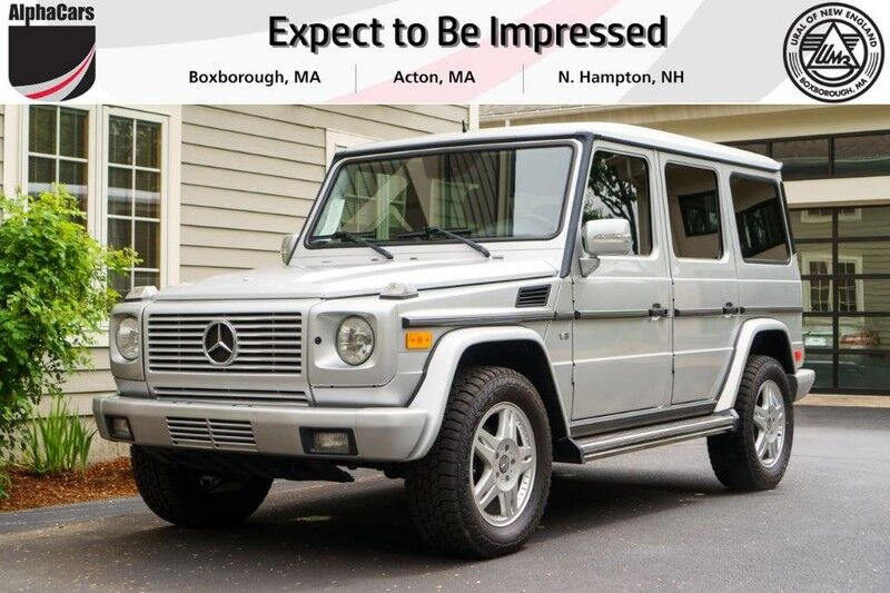 2004 Mercedes-Benz G500 Luxury 4x4 Boxborough MA