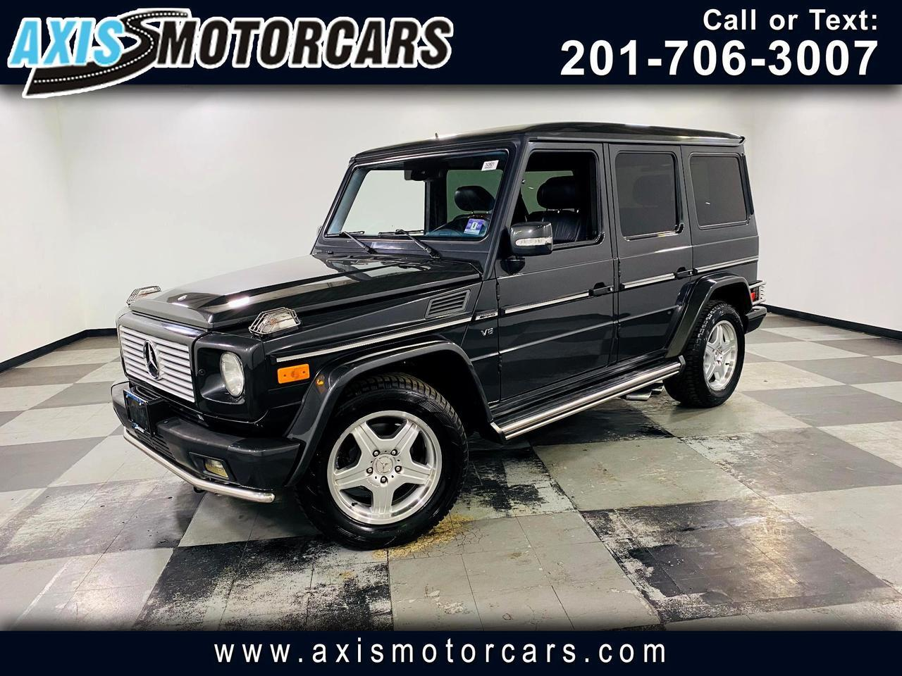 2004 Mercedes-Benz G55 AMG w/Navigation Sunroof Leather Jersey City NJ