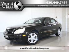 Mercedes-Benz S-Class 5.0L - 4MATIC AWD BOSE AUDIO BLACK LEATHER HEATED SEATS SUNROOF POWER REAR SUNSHADE 2004