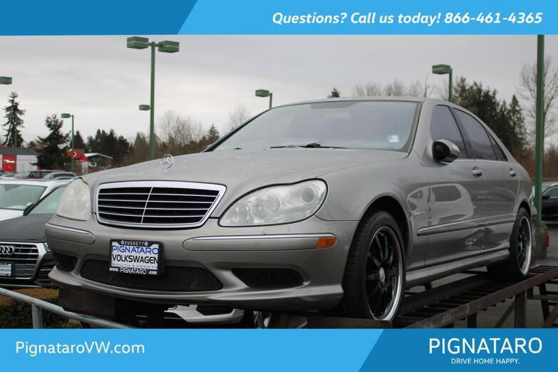2004 Mercedes-Benz S-Class S 55 AMG® Everett WA