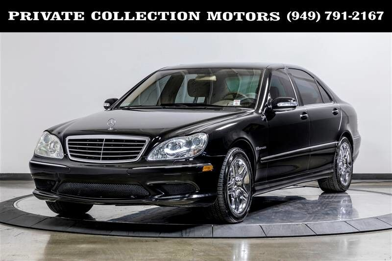 2004_Mercedes-Benz_S55 AMG_S-Class AMG 1 Owner Clean Carfax_ Costa Mesa CA